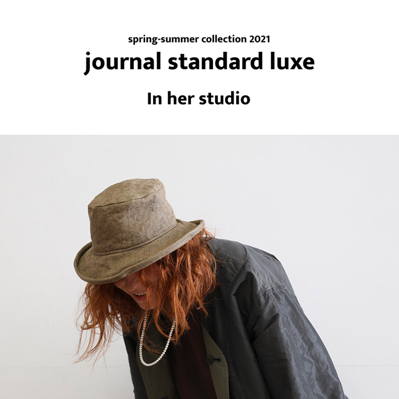 journal standard luxe In her studio